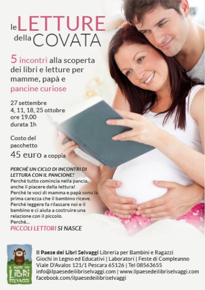 Le letture della covata: per mamme, papà e pancine
