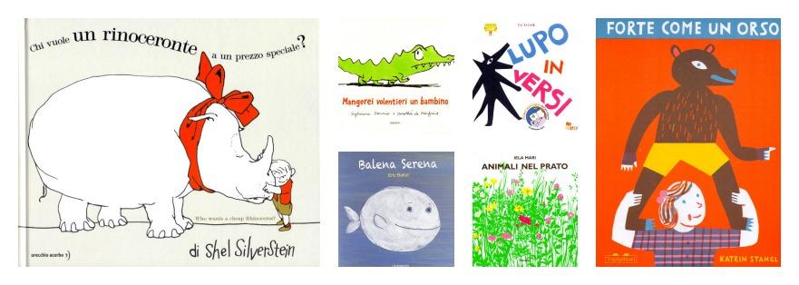 5 + 6 Libri di animali per bambini