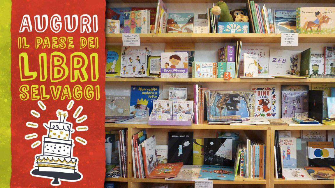 La Libreria compie 2 anni: festeggia con noi!