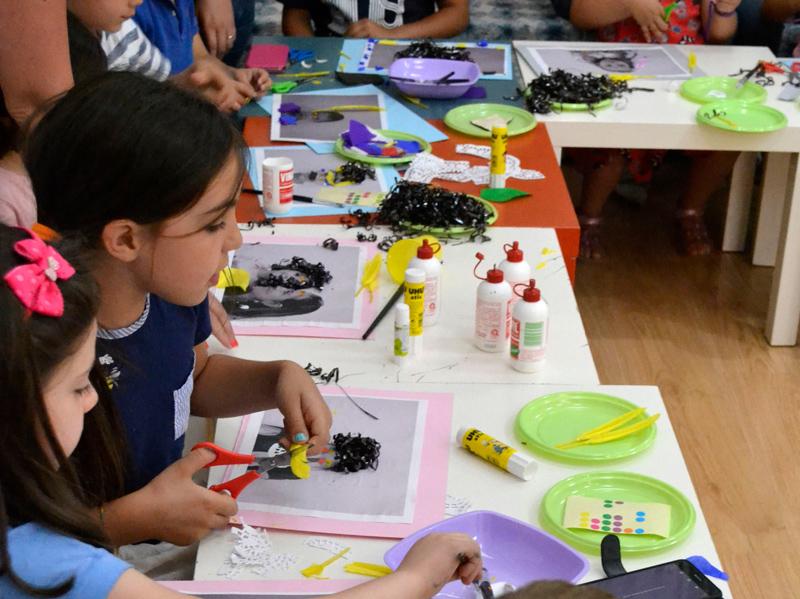 Laboratori per Bambini sul tema dell'Arte e della Fotografia